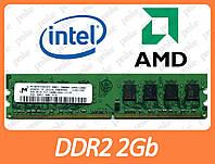 DDR2 2Gb Micron 800Мгц (6400)