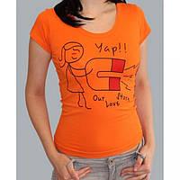 """Парная футболка """"Love Story"""" женская"""