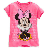 Футболка для девочки 10/12 лет Минни Маус Дисней / Minnie Mouse Tee for Girls Disney