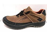 Ботинки мужские демисезонные Ecco натуральная кожа/нубук E0025