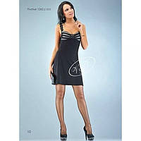 Черный трикотажный платье-сарафан, V&V Украина