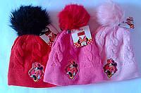 Головные уборы Зима Minnie Mouse Обх. Гол. 54 см 770-269 CottonLand Польша