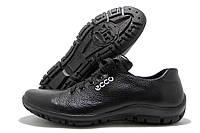Кроссовки мужские Ecco FA черные (экко)