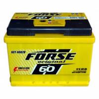 Аккумулятор FORSE 60Ah/12V (600) +- (об)