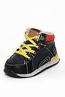 Детские ботиночки на мальчика черные (19-24)