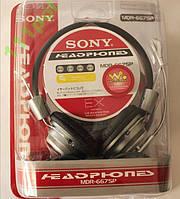 Наушники с микрофоном SONY MDR-667SP. Качество !!!