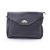Кожаный, износостойкий клатч на каждый день. Удобная, небольшая сумка. Сумка через плече. Код: КБН57