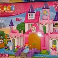 Детский конструктор JDLT 5256 Замок для принцесс