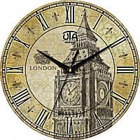 Стильные настенные часы, Лондон. Биг Бен.