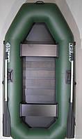 Лодки надувные пвх Omega Ω 245 LST (двухместная гребная лодка с навесным транцем и  реечной сланью)