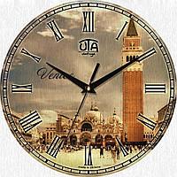 Стильные настенные часы, Венеция. Площадь Святого Марка.