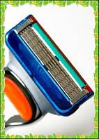 Станок для бритья (бритва) + Касеты картриджи лезвие Gillette Fusion