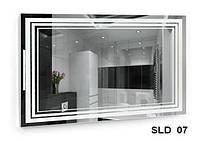 Зеркало со встроенной подсветкой SLD-07 (800х600)