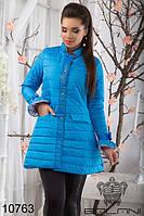 Теплая женская куртка на синтепоне, р.(42-46), доставка по Украине