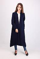 Красивое длинное женское пальто из шерсти 609
