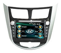Головное мультимедийное устройство Hyundai Accent 2011+