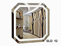 Зеркало со встроенной подсветкой SLD-12 (800х600)