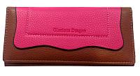 Молодежный, практичный женский кошелек. Женский яркий, удобный портмоне. Износостойкий кошелек. Код: КБН60