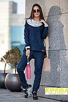 Костюм (кофта с капюшоном анорак и штаны, зауженные к низу)