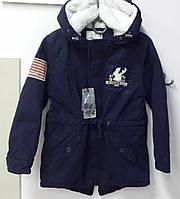 Демисезонная теплая куртка парка на мальчиков. ТМ Glo-story Венгрия. 104/110 116/122 128/134