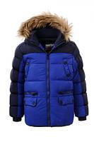 Зимняя теплая детская куртка для мальчика. ТМ Glo-story Венгрия.  Рост 92/98 104/110 116/122 128