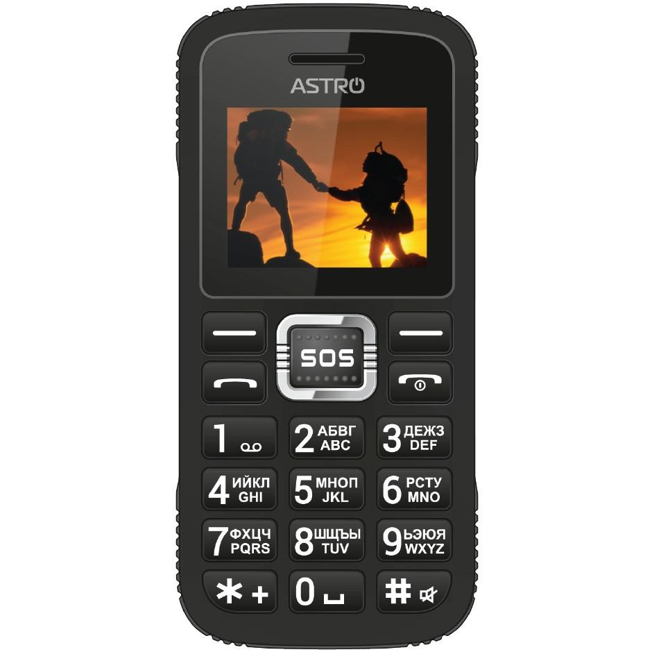 Мобильный телефон Astro A178 Black