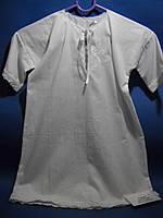 Рубашка для крещения белая с вышивкой (батист)