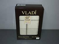 Шерстяной Плед  Vladi Марсель 01 в подарочной коробке (140х200)