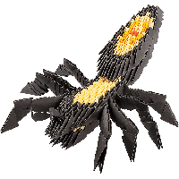 """Модульное оригами Бумагия """"Тарантул"""" 375 модулей ОМ6019"""