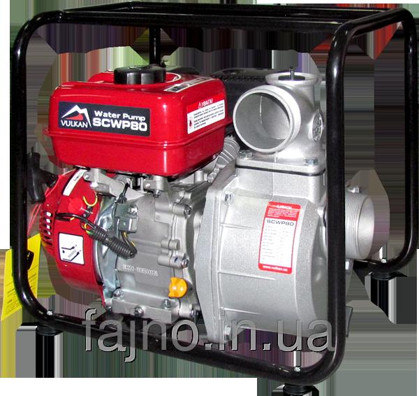 Бензиновые мотопомпы ⌀80 мм (60 кубов в час)
