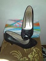 Туфли с носиком - босоножки, размер 36.