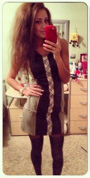Платье со змейкой на всю спинку, размер : М