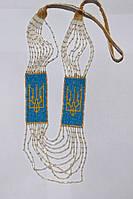 Жіночий гердан-силянка з жовтим гербом (Женский гердан-силянки с желтым гербом) ZS-0017