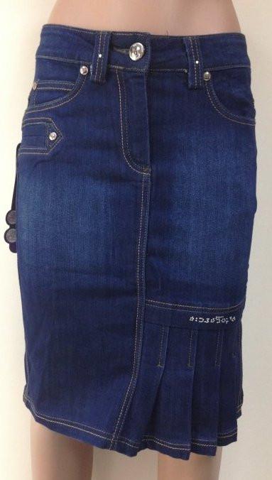 Узкая джинсовая юбка, размер : 25