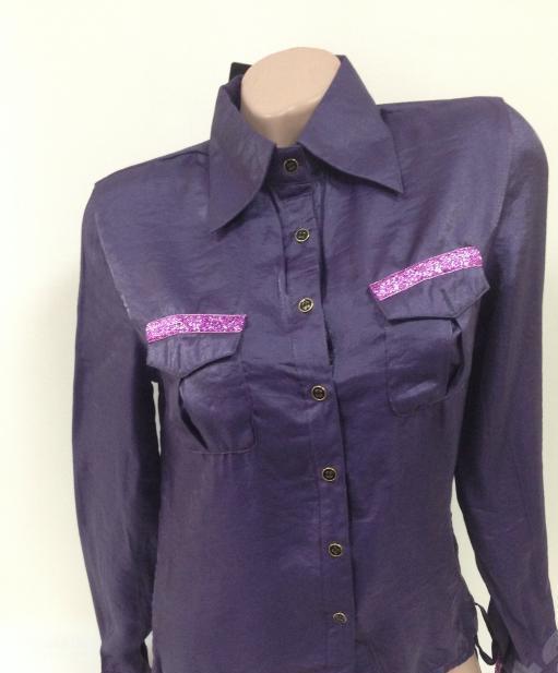 Стильная блуза - рубашка, размер  40/42