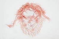Молодежная косынка персикового цвета