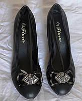 Удобные туфли - балетки , размер  - р 37
