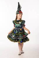 Елочка новогоднее платье для девочки
