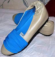 Туфли - балетки, натуральная кожа, размер : 37
