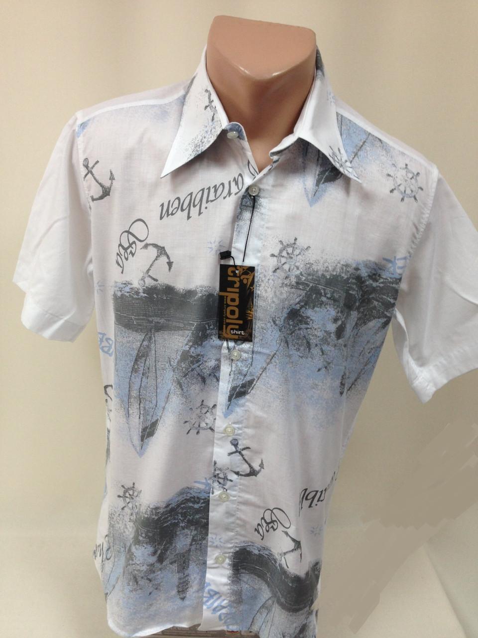 Стильная рубашка ( сорочка), размер 44 / 46