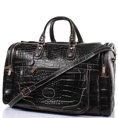 Мужская дорожная сумка 40 л. DESISAN (ДЕСИСАН) SHI506-11 Черная