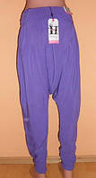 Стильные, легкие штаны - бриджи - алладинки,  размер 8.