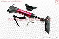 Насос MTB алюминиевый с Т-ручкой, красный GP-96A