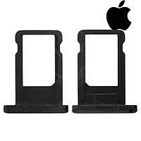 Держатель SIM-карты для Apple iPad Mini, оригинал (черный)