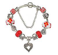 Женский красивый браслет (в одном цвете и в одном размере)