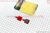 Тормозные колодки диск. тормоз к-кт (SR Suntour mechanical)