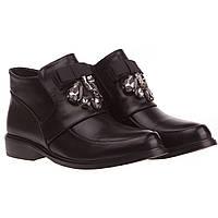 Женские ботинки Stella Marco (стильные, модные, удобные, с изысканным бантом и стразами)