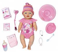 Кукла Zapf Baby Born Очаровательная Малышка 43 см с чипом и аксессуарами 822005