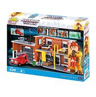Конструктор COBI Большая пожарная станция, 425 деталей, COBI-1475