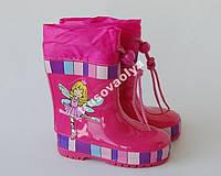 Резиновые сапоги для девочек